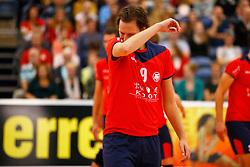 20140928 NED: Supercup, Landstede Volleybal - Kootfin Taurus: Sneek<br /> Ralph van Gasteren (9) of Kootfin Taurus<br /> ©2014-FotoHoogendoorn.nl / Pim Waslander