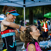 Images from the 2017 She Tris women's triathlon at I'On in Mt. Pleasant near Charleston, South Carolina.