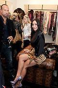 SOFIA HAYAT<br /> Party to celebrate the launch of the new Cavalli Store. Roberto Cavalli. Sloane st. London. 17 September 2011. <br /> <br />  , -DO NOT ARCHIVE-© Copyright Photograph by Dafydd Jones. 248 Clapham Rd. London SW9 0PZ. Tel 0207 820 0771. www.dafjones.com.