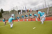 28.7.2015, EMG Berlin. Fieldhockey Israel vs. Germany MEN.