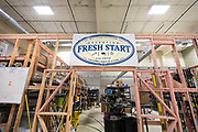 A view of the construction and conservation lab during the grand opening ceremony for Operation Fresh Start on Milwaukee Street in Madison, WI on Thursday, April 11, 2019.