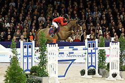 Baryard Johnsson Malin (SWE) - H&M Reveur de Hurtebise<br /> Jumping Amsterdam 2012<br /> © Hippo Foto - Leanjo de Koster