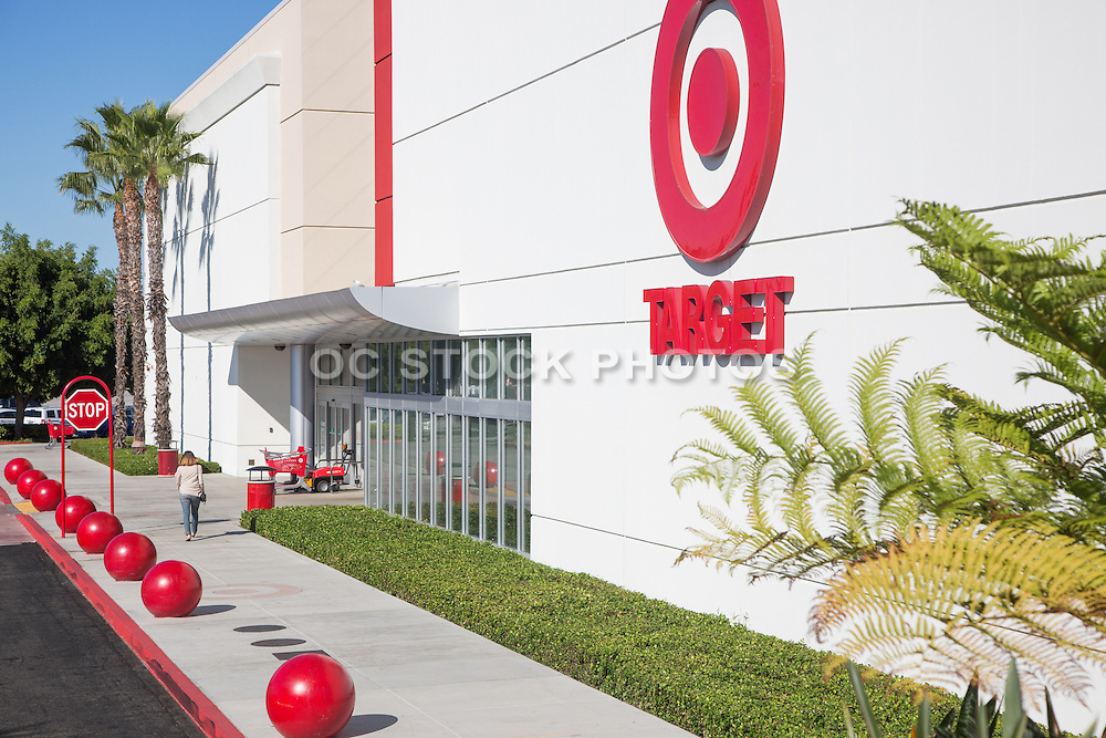 Target Store Front at Westminster Mall
