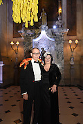 GEORGE HOWARD; VICKY HOWARD, Ball at to celebrateBlanche Howard's 21st and  George Howard's 30th  birthday. Dress code: Black Tie with a touch of Surrealism. Castle Howard. Yorkshire. 14 November 2015