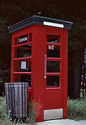 Red, Red Telephone Booth, Telephone Booth, New Zealand