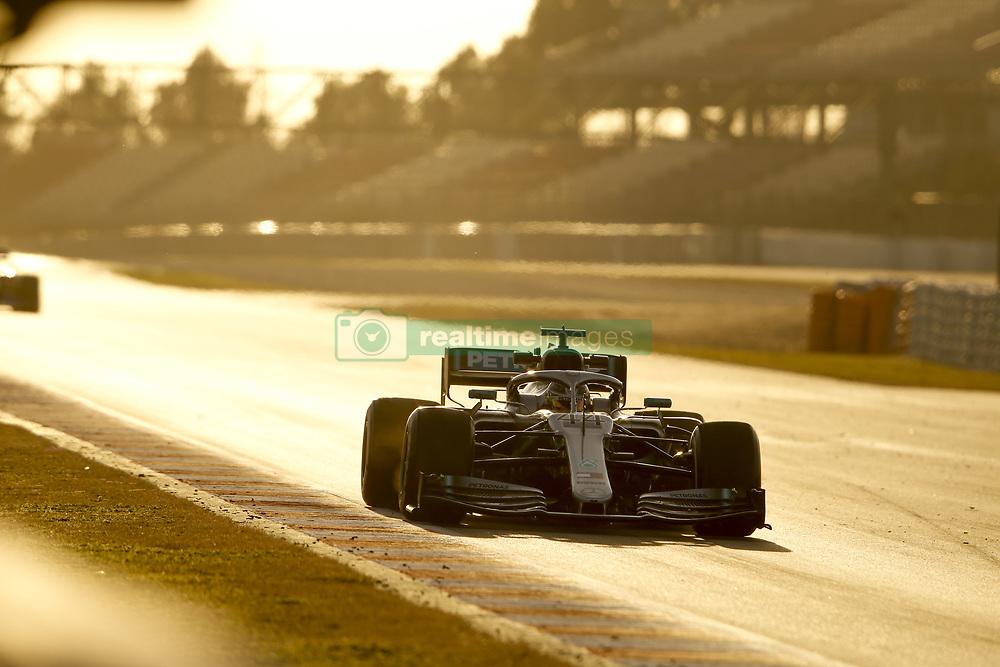 February 18, 2019 - Barcelona, Spain - Motorsports: FIA Formula One World Championship 2019, Test in Barcelona, , #44 Lewis Hamilton (GBR, Mercedes AMG Petronas F1 Team) (Credit Image: © Hoch Zwei via ZUMA Wire)