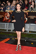London The Hunger Games Catching Fire Premiere 8 Nov 2016