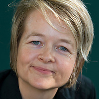 EDINBURGH, SCOTLAND - AUGUST19. Author Sarah Waters poses during a portrait session held at Edinburgh Book Festival on August 19, 2006  in Edinburgh, Scotland. (Photo by Marco Secchi/Getty Images).