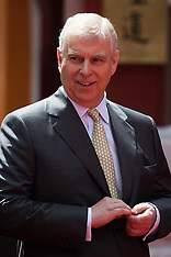 2016-07-25 Duke of Yourk HRH Prince Andrew opens gate in Chinatown.