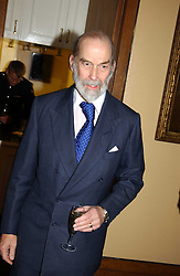 HRH PRINCE MICHAEL OF KENT at a reception to support The Hyde Park Appeal held in the Officers Mess, Household Cavalry Mounted Regiment, Hype Park Barracks, Knightsbridge, London SW1 on 30th November 2004.<br /><br />NON EXCLUSIVE - WORLD RIGHTS