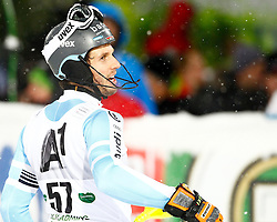 27.01.2015, Planai, Schladming, AUT, FIS Skiweltcup Alpin, Schladming, 2. Lauf, im Bild Dominik Stehle (GER) // Dominik Stehle (GER) during the second run of the men's slalom of Schladming FIS Ski Alpine World Cup at the Planai Course in Schladming, Austria on 2015/01/27, EXPA Pictures © 2015, PhotoCredit: EXPA/ Erwin Scheriau