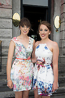 31/07/2014 There was an excellent turnout of fashionable ladies at Hotel Meyrick for their Most Stylish Lady Competition, judged by two of Ireland's leading fashion commentators Sonya Lennon  and Brendan Courtney .  At the event was Aspires and Aisling Smyth, knocknacarra. Picture:Andrew Downes