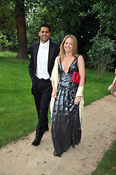 KATE REARDON at the Raisa Gorbachev Foundation fourth annual fundraising gala dinner held at Stud House, Hampton Court, Surrey on 6th June 2009.