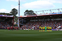Football - 2016 / 2017 Premier League - AFC Bournemouth vs. Middlesbrough<br /> <br /> The teams stand for a minutes applause before kick off to remember and celebrate the life of Ugo Ehiogu at the Vitality Stadium (Dean Court) Bournemouth<br /> <br /> COLORSPORT/SHAUN BOGGUST
