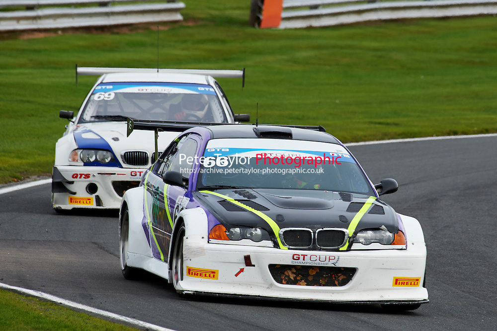 #66 Michael SYMONS  BMW M3 V8 GTR during GT Cup - Race 1 as part of the MSVR Oulton Park 10th October 2015 at Oulton Park, Little Budworth, Cheshire, United Kingdom. October 10 2015. World Copyright Taylor/PSP. Copy of publication required for printed pictures.  Every used picture is fee-liable. http://archive.petertaylor-photographic.co.uk