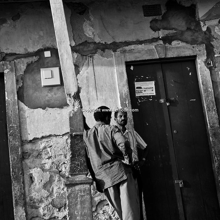 Cape Verde. San Felipe, village with traditional colonial portuguese houses  Fogo island     / Cap-Vert:  San Filipe, village avec maisons coloniales portugaises;  ile de Fogo   San Felipe, belle petite bourgade dont les sobrados, anciennes maisons coloniales souvent a l abandon, temoignent de toute une epoque. /23