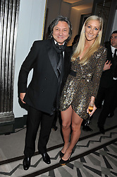 LEON MAX and EMMA PILKINGTON at a dinner and dance hosted by Leon Max for the charity Too Many Women in support of Breakthrough Breast Cancer held at Claridges, Brook Street, London on 1st December 2011.