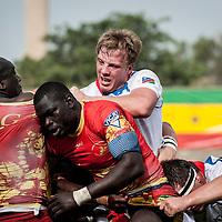 11/06/2013. Stade Iba Mr Diop, Dakar, Senegal. Action de jeu pendant la demi-finale de la Coupe d'Afrique des Nations B contre la Namibie. ©Sylvain Cherkaoui