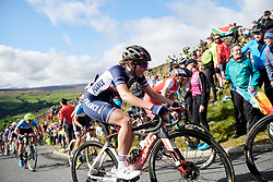 Juliette Labous (FRA) on the Lofthouse climb at UCI Road World Championships 2019 Women's Elite Road Race a 149.4 km road race from Bradford to Harrogate, United Kingdom on September 28, 2019. Photo by Sean Robinson/velofocus.com