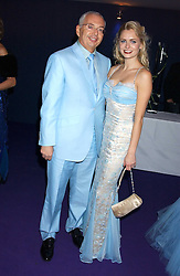 HENRI ZIMAND and ANOUSKA DE GEORGIOU at The British Red Cross London Ball - H2O The Element of Life, held at The Room by The River, 99 Upper Ground, London SE1 on 17th November 2005.<br /><br />NON EXCLUSIVE - WORLD RIGHTS