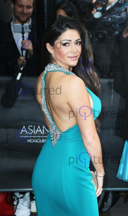 Casey Batchelor, The Asian Awards, Grosvenor House Hotel, London UK, 17 April 2015, Photo by Richard Goldschmidt