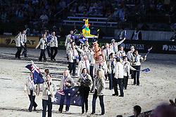 Openingceremony: Team Australia<br /> World Equestrian Games Lexington - Kentucky 2010<br /> © Dirk Caremans