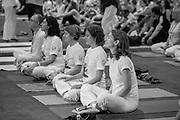 International Yoga Day Celebrations in Madrid Spain celebrated the Yoga Day with the Madrid Sivananda Teachers