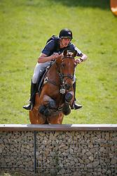 Martens Vincent (BEL) - Falco van de Mispelaere<br /> LRV Nationaal Kampioenschap Eventing - Tongeren 2013<br /> © Dirk Caremans