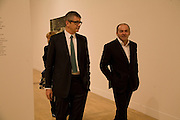 JAY JOPLING AND VICTOR PINCHUK, Private view and dinner for the opening of the Peter Doig exhibition. Tate Britain. Millbank. London. 4 February 2008.  *** Local Caption *** -DO NOT ARCHIVE-© Copyright Photograph by Dafydd Jones. 248 Clapham Rd. London SW9 0PZ. Tel 0207 820 0771. www.dafjones.com.