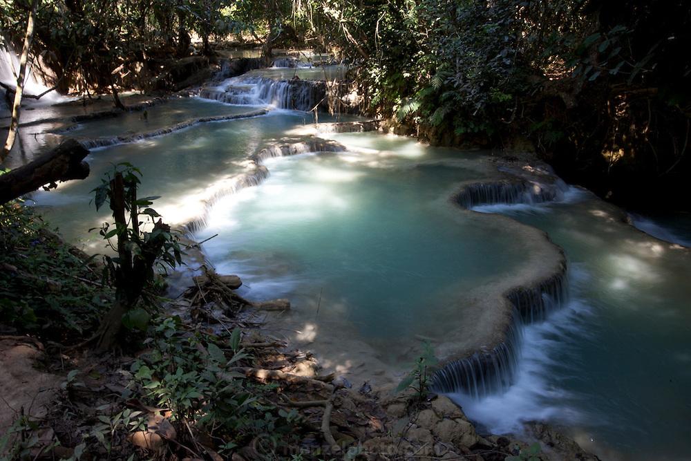 Kuang Si Waterfall, Luang Prabang, Laos.