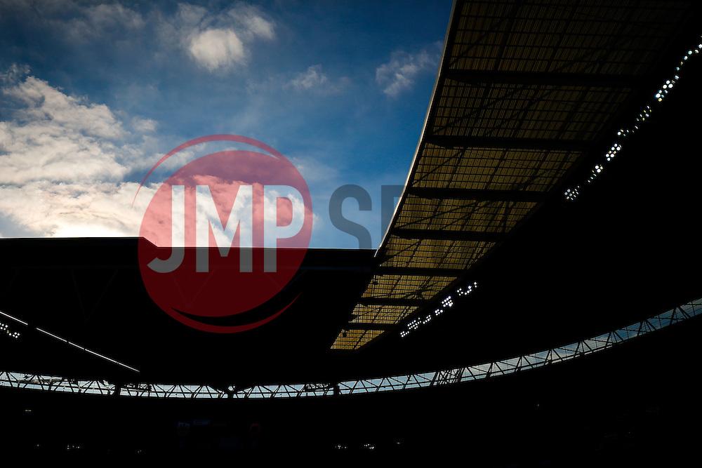 General View inside Wembley - Photo mandatory by-line: Rogan Thomson/JMP - 07966 386802 - 22/03/2015 - SPORT - FOOTBALL - London, England - Wembley Stadium - Bristol City v Walsall - Johnstone's Paint Trophy Final.