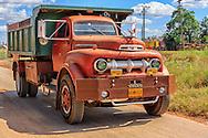 Truck in Guira de Melena, Artemisa Province, Cuba.
