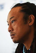 Tana Umaga is named as Blues Super Rugby Head Coach for the next 3 years. Alexandra Park, Auckland, New Zealand. Tuesday 23 June 2015. Copyright Photo: Andrew Cornaga / www.Photosport.nz