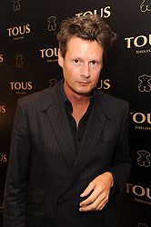 PERCY PARKER at a party to announce Kylie Minogue as The Face of Tous held at their store 260 Regent Street, London on 8th June 2010.