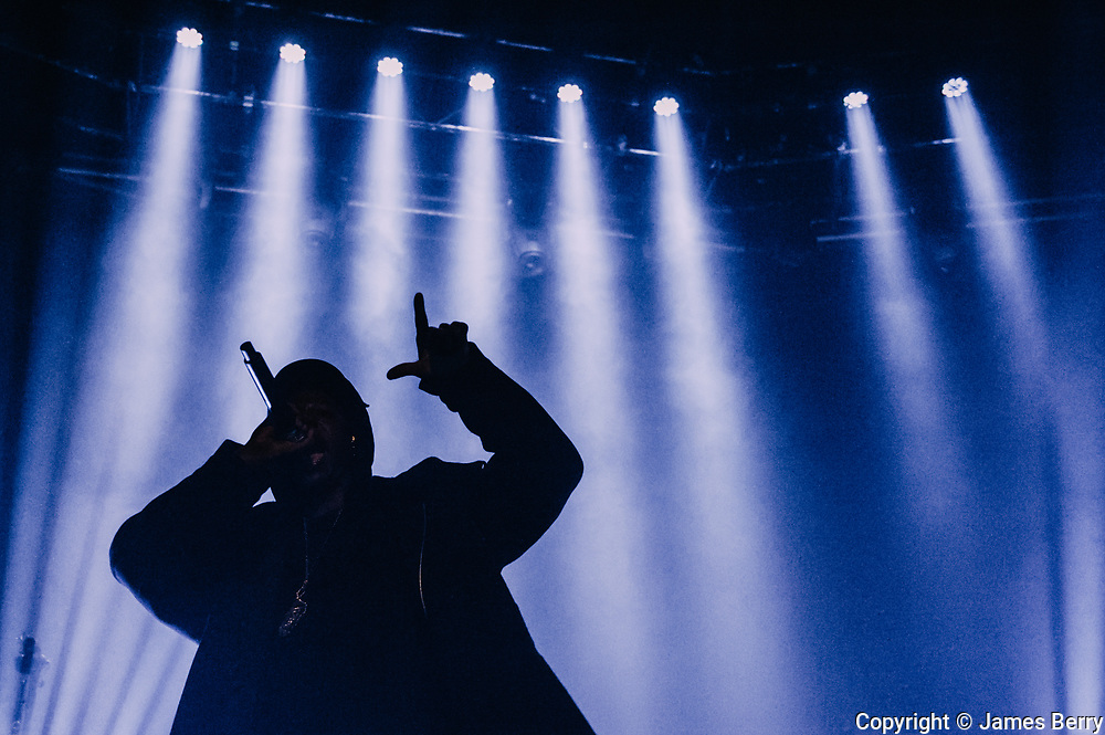 Joey Bada$$ performs live at the Roundhouse, London on Monday 16 November.