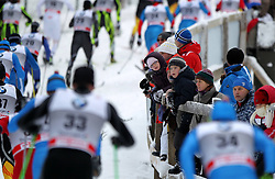 30.12.2011, DKB-Ski-ARENA, Oberhof, GER, Viessmann FIS Tour de Ski 2011, Pursuit/ Verfolgung Herren im Bild Zuschauer verfolgen das Rennen an der Strecke . // during of Viessmann FIS Tour de Ski 2011, in Oberhof, GERMANY, 2011/12/30 .. EXPA Pictures © 2011, PhotoCredit: EXPA/ nph/ Hessland..***** ATTENTION - OUT OF GER, CRO *****