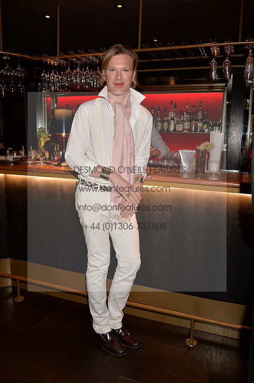 Henry Conway at the Quaglino's Q Legends Summer Launch Party hosted by Henry Conway at Quaglino's, 16 Bury Street, London England. 18 July 2017.