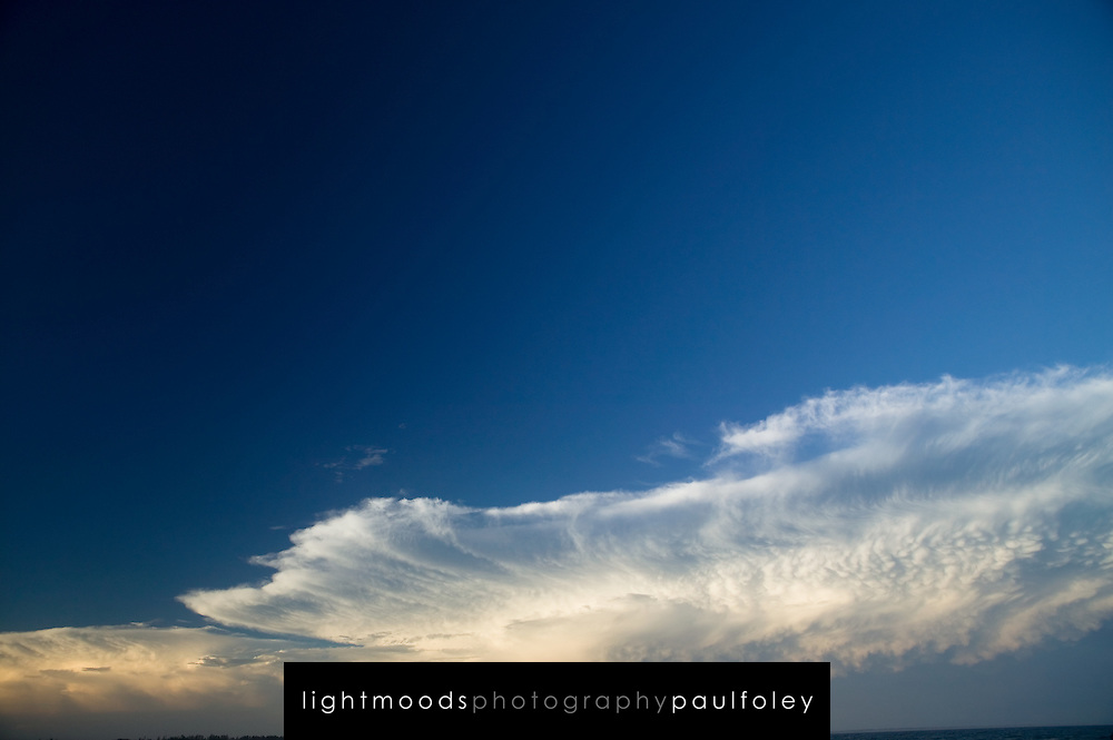 Approaching storm clouds over the Pacific Ocean, South East Australia