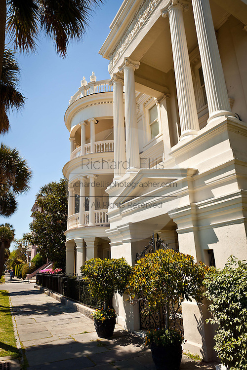 Historic home on the Battery in Charleston, SC.