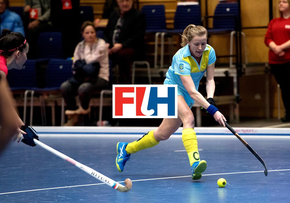 BERLIN - Indoor Hockey World Cup<br /> Women: Ukraine - Czech Republic<br /> foto: SAMOKHODCHENKO Kateryna.<br /> WORLDSPORTPICS COPYRIGHT FRANK UIJLENBROEK