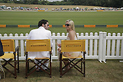 Tamzin Outhwaite and Tom Ellis, Veuve Clicquot Gold Cup 2006. Final day. 23 July 2006. ONE TIME USE ONLY - DO NOT ARCHIVE  © Copyright Photograph by Dafydd Jones 66 Stockwell Park Rd. London SW9 0DA Tel 020 7733 0108 www.dafjones.com