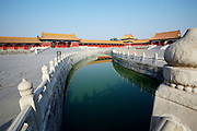 Gugong (Forbidden City, Imperial Palace). Golden River, Xiehe Men (l.)