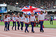 Great Britain's Junior Athletes during the Sainsbury's Anniversary Games at the Queen Elizabeth II Olympic Park, London, United Kingdom on 25th July 2015. Photo by Ellie Hoad.