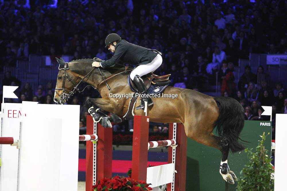 Equitation : Gucci Masters - 03.12.2010 - Rolex Speed Challenge CSI5 - Philippe Lejeune (BEL/ Querlibet Hero) *** Local Caption *** 00042820