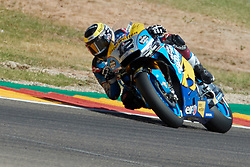 September 22, 2018 - Thomas Luthi (EG 0,0 Marc VDS)  in action during  Gran Prix Movistar the Aragón. 22-09-2018  September 22, 2018. (Credit Image: © AFP7 via ZUMA Wire)
