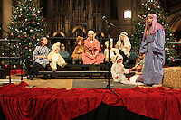 """Rockefeller Chapel held """"A Service of Nine Lessons and Carols for Christmas Eve"""" Tuesday evening.<br /> <br /> Children and adults alike were part of a Nativity performance."""