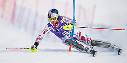 France's Alexis Pinturault on his way to win an alpine ski, men's World Cup slalom, in Wengen, Switzerland, Sunday, Jan. 19, 2014
