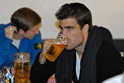 24.10.2011, Bayernzelt / Bayernfesthalle auf der Buergerweide / Bürgerweide, Bremen, GER, 1.FBL, Freimarktbesuch Werder Bremen, im Bild Sokratis Papastathopoulos (Bremen #22) // during the visit of the Bremer Freimarkt from Werder Bremen on 2011/10/24t, Bayernzelt / Bayernfesthalle at the Buergerweide / Bürgerweide, Bremen, Germany. EXPA Pictures © 2011, PhotoCredit: EXPA/ nph/  Gumz       ****** out of GER / CRO  / BEL ******