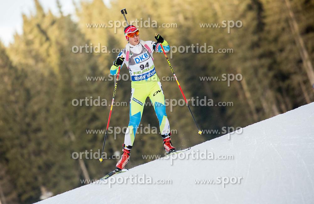 Urska Poje (SLO) competes during Women 7,5 km Sprint at day 2 of IBU Biathlon World Cup 2015/16 Pokljuka, on December 18, 2015 in Rudno polje, Pokljuka, Slovenia. Photo by Vid Ponikvar / Sportida