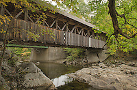 Sunday River covered bridge Maine